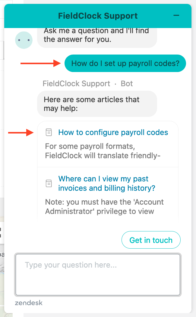 Zendesk Article Suggestions