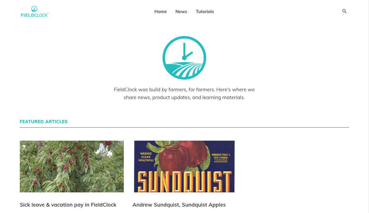 FieldClock Blog