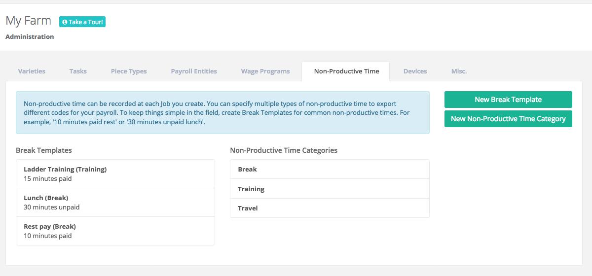 Non-productive Time