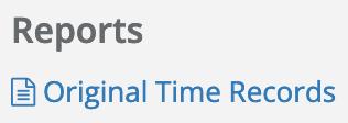 Original Time Records